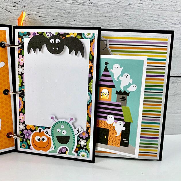 My Favorite Monsters Halloween Album Kit