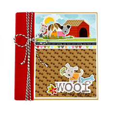 Woof Dog Scrapbook Album
