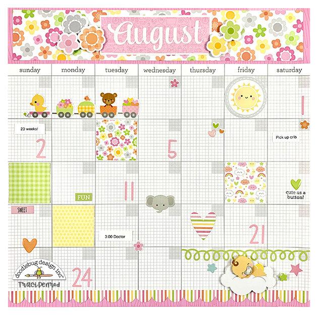 Pregnancy Calendar Pages
