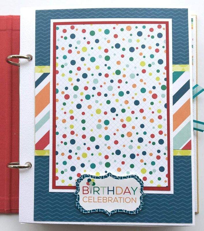 Birthday Wishes Scrapbook Album
