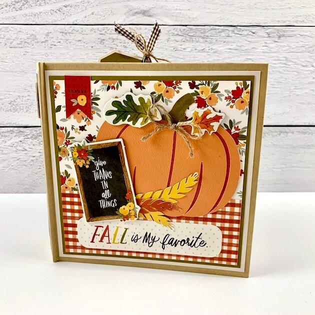 Fall Scrapbook Mini Album Kit