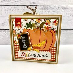 Fall Scrapbook Mini Album Kit