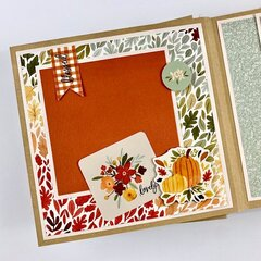 Fall Scrapbook Album Kit