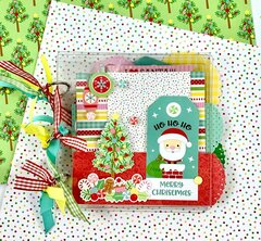Christmas Scrapbook Album Kit