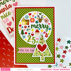Christmas Gift Wrap and Card