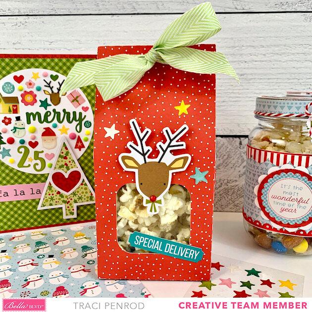 Christmas Gift Wrap and Card