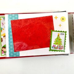 Christmas Elf Scrapbook Album Kit