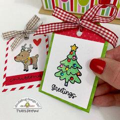 Christmas Gift Tags & Box