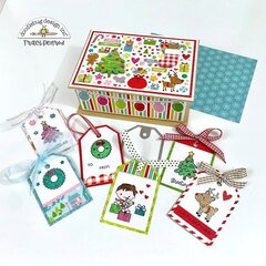 Christmas Gift Tags & Box