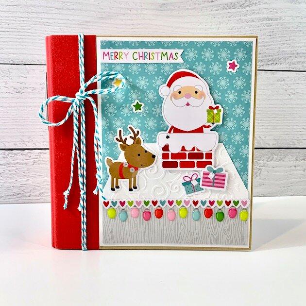 Christmas At Home Scrapbook Album Kit