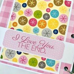 Colorful Wedding Scrapbook Album Kit