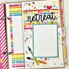 Crafting Memories Scrapbook Album Kit
