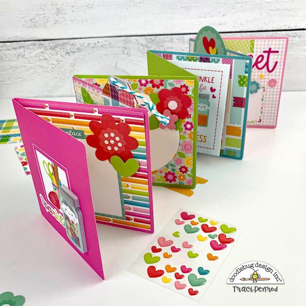 Sparkle Card Mini Album