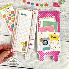 Craft Cart Mini Scrapbook Album