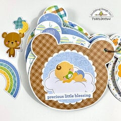 Baby Bear Mini Scrapbook Album