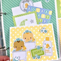 Baby Boy Special Delivery Album Kit
