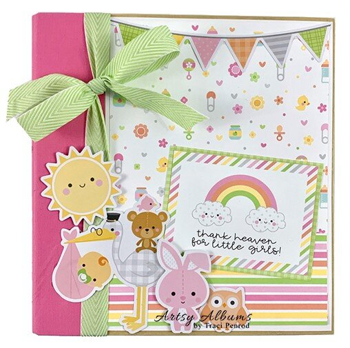 Baby Girl Bundle of Joy Album Kit