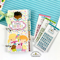 Birthday Mini Jewels Scrapbook Album
