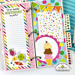 Birthday Mini Jewels Scrapbook Album