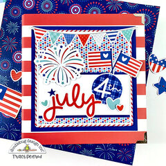 July 4th Scrapbook Album, Land That I Love