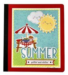 Summer Grillin' and Chillin' Mini Album Kit