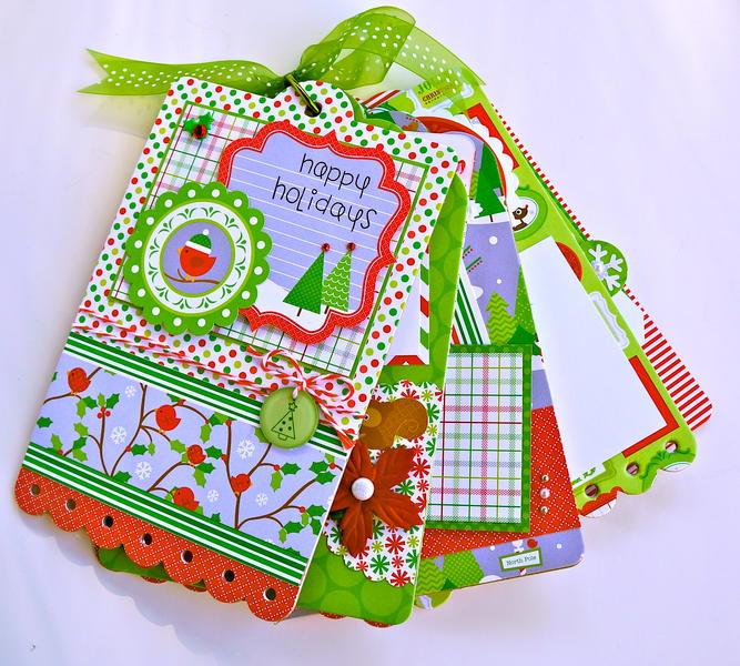 Happy Holidays Doodlebug Mini