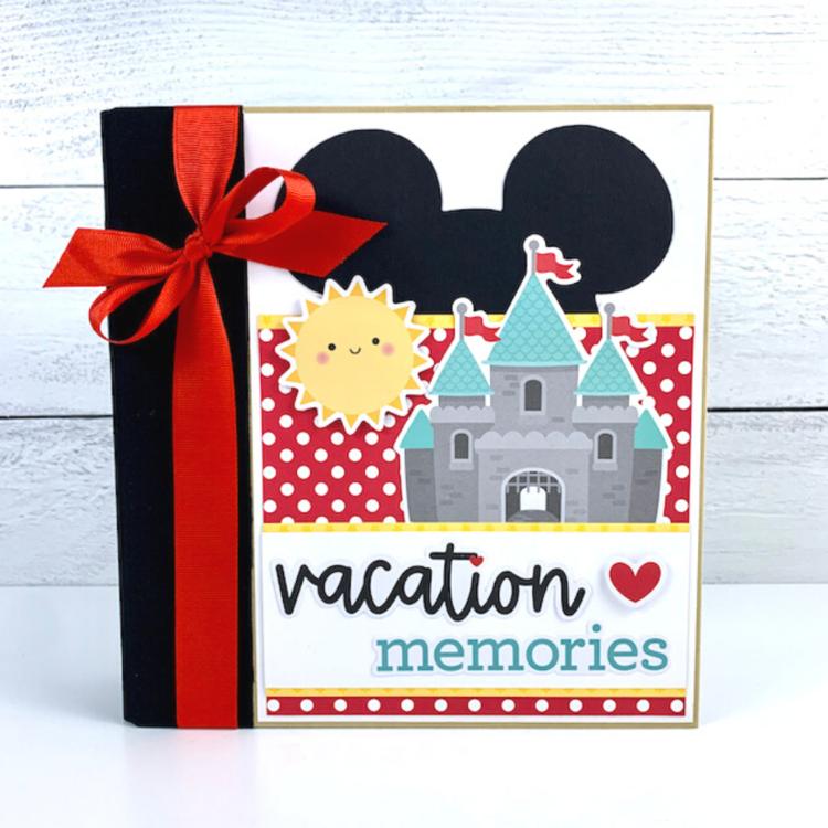 Vacation Memories Album Kit