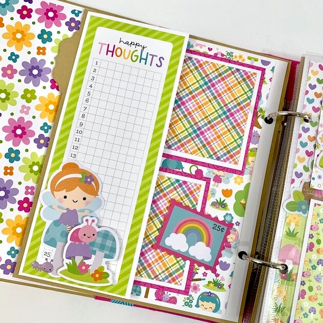 Fairy Beautiful Day Scrapbook Kit
