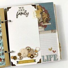 Family Scrapbook Album Kit