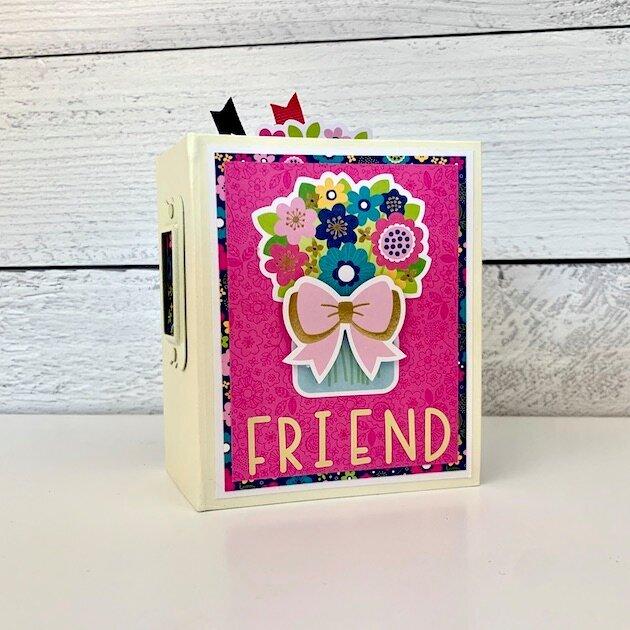 Friend Scrapbook Mini Album Kit
