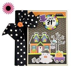 Halloween Oct 31 Scrapbook Mini Album Kit