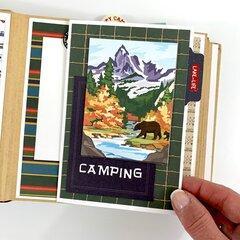 Happy Camper Scrapbook Album