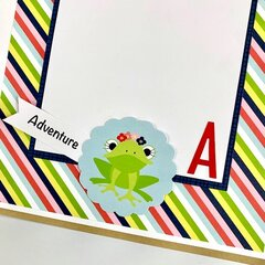 H is For Happy Scrapbook Kit
