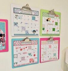 Wall Scrapbook Calendar