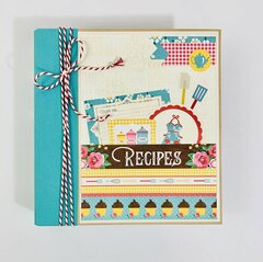 Family Recipe Album Kit
