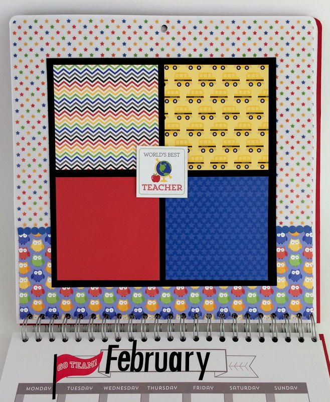 School Calendar: February
