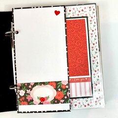 Love You Scrapbook Album Kit