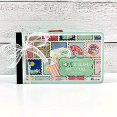 Travel Girls Scrapbook Album Kit