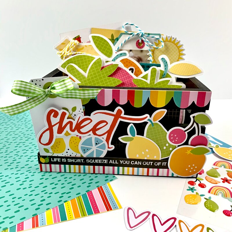 Squeeze the Day Photo Crate