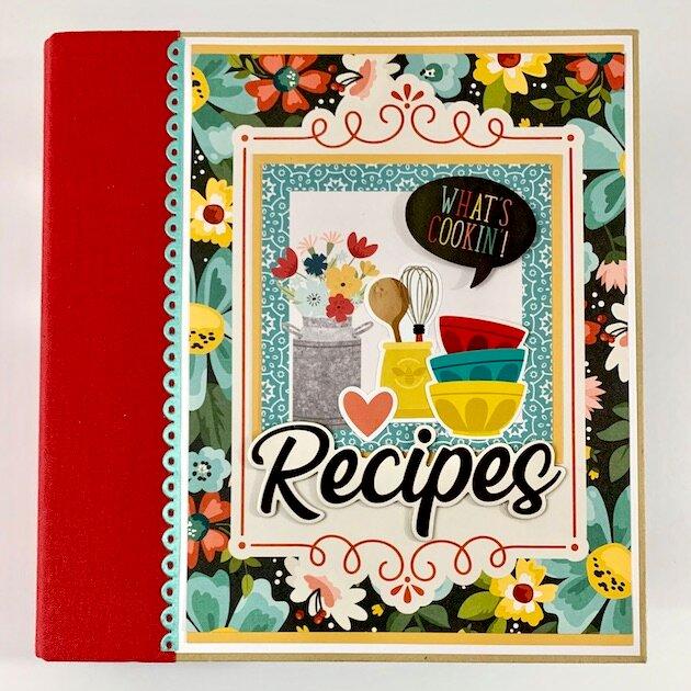 Recipe Scrapbook Album Kit