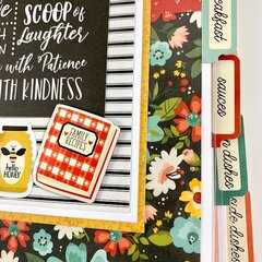 Recipe Scrapbook Album Kit