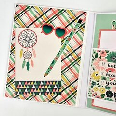 She Believed She Could Scrapbook Album Kit
