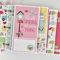 Spring is in the Air Scrapbook Album