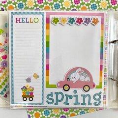 Spring Hippity Hoppity Layouts