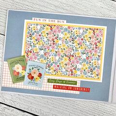 Sweet Summer Memories Scrapbook Album Kit