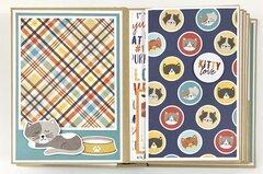 Cat Kitten Scrapbook Mini Album Kit