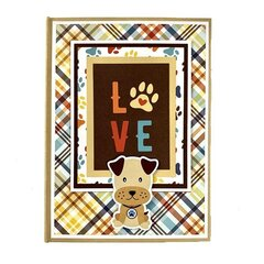 Dog Puppy Scrapbook Mini Album Kit