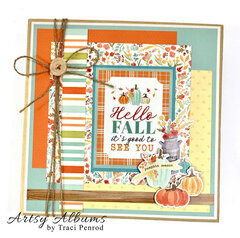 Fall Autumn Scrapbook Album