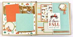 Fall Autumn Scrapbook Album
