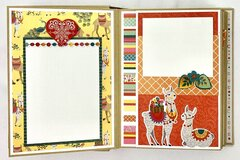 Friend Family Mini Scrapbook Album